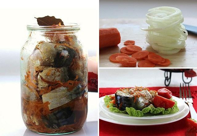 Рецепт потрясающе вкусной скумбрии в пикантном маринаде