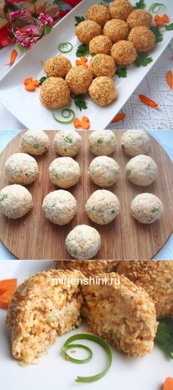 Салатные шарики «А-ля Мимоза» – готовлю их каждое воскресение по уникальному рецепту!