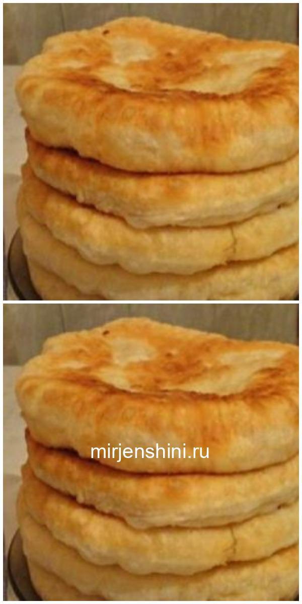 С этим рецептом забудешь, что такое хлеб! Пушистые лепешки на кефире