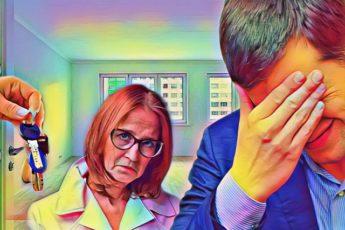 Муж думал, что обхитрил жену, оформив квартиру на свою маму. Но жена оказалась не промах 1