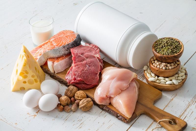 selection-of-protein-sources-in-kitchen-background