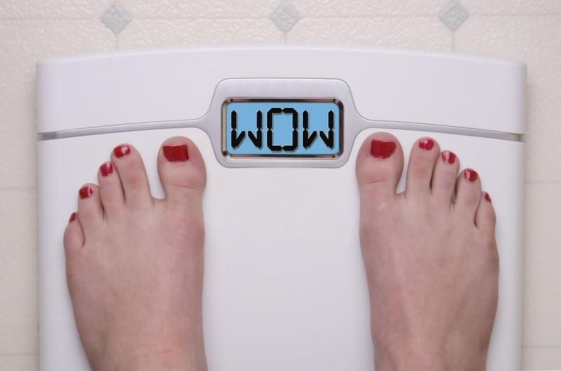 digital-bathroom-scale-displaying-omg-message